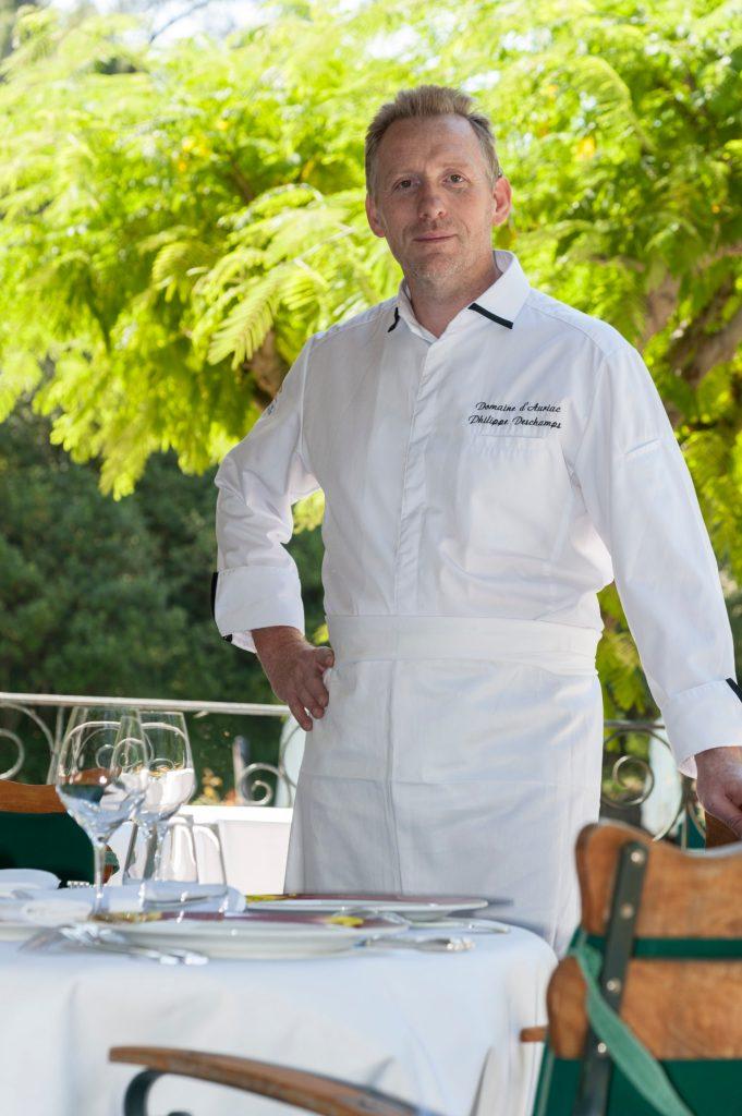 Philippe Deschamps, Chef du Restaurant du Domaine d'Auriac, Relais et Chateaux  - © Alain Machelidon