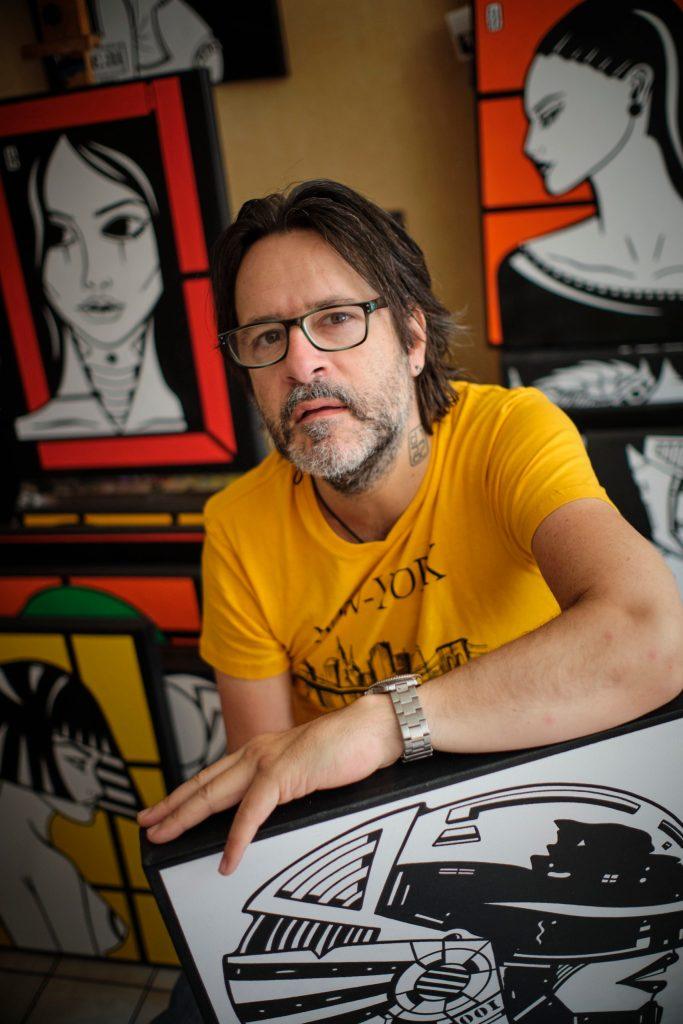 Patrice DIssac - artiste peintre et plasticien - © Alain Machelidon