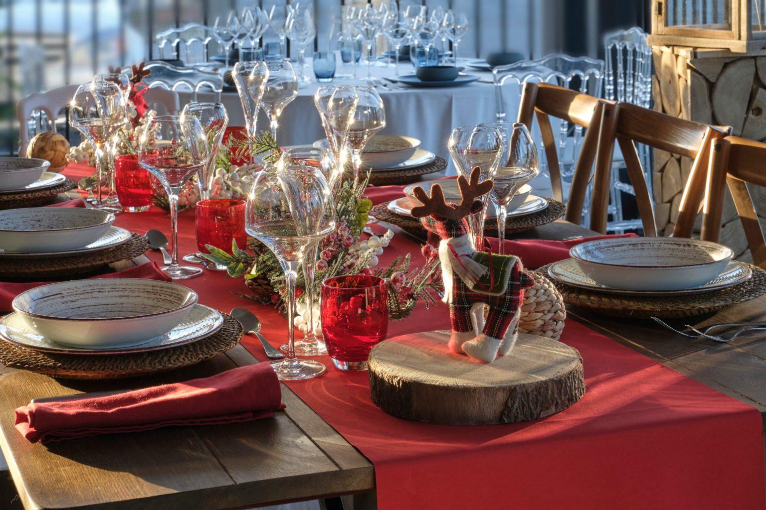 Evenement Votre - Tables de Noel