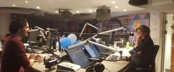 Bij Zin in Weekend op radio 5 bij Annemiek Schrijver