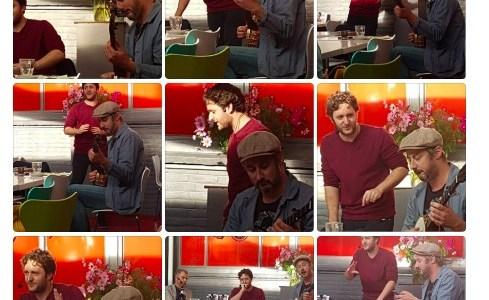 Met Broeder Dieleman en 'God en ik' door Middelburg
