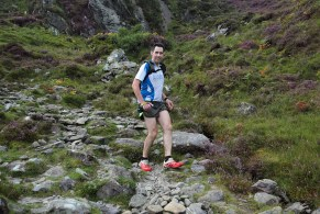 Bertie Harte, on the Lack Road, McGillycuddy's Reeks, Glencar, Co Kerry, in The Kerry Way Ultra Marathon, a non stop endurance race of 189.05km, which stretches along the Wild Atlantic Way, traversing over the McGillycuddy's Reeks and Iveragh Peninsula, along ancient trails and old roads and coastal cliffs.Photo:Valerie O'Sullivan/NO REPRO FEE