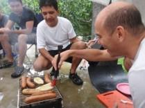 Joaquín de cocinero