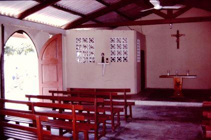 Iglesia en Puerto Obaldía