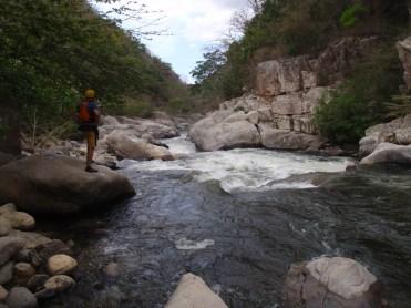 Entrando al cañón