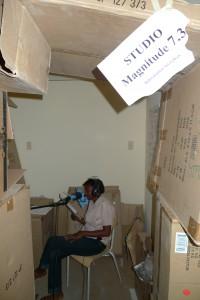 Internews radio studio