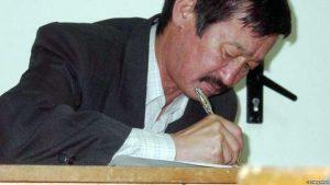Айтылуу акын Алым Токтомушев эскерилди