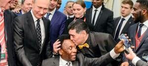 Марадона Пеленин чексинен өөп, Путинди далыга таптады…