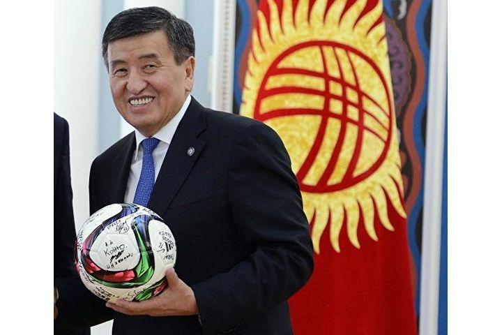 Бүгүн президент дүйнөлүк футболдун ачылышына катышат