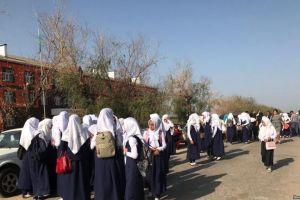 Хиджабчан окуучулардын ата-энесине айып пул салынды