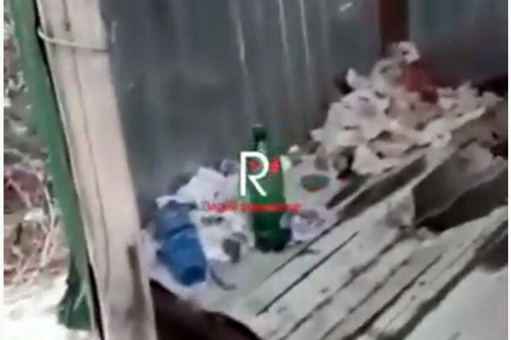ВИДЕО: Арыкта аккан суунун үстүнө ажаткана салып коюшуптур…
