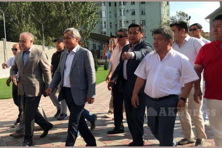 Үч ВИДЕО: Кореядагы кыргыздар Текебаев менен Чотоновго арнап түлөө өткөрдү…