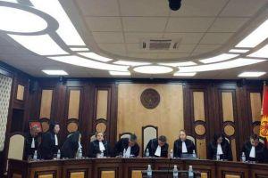 Конституциялык палатасынын судьялары Атамбаевдин тарапташтарынын өтүнүчүн четке какты