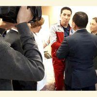 Кой-Таш окуясында жабыркаган Самат Курманкуловго президенттин сыйлыгы тапшырылды