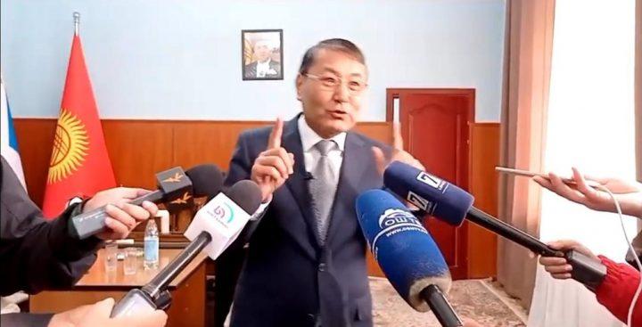 ВИДЕО — Мелис Мырзакматов президент чалып, эмнени дайындаганын айтты…