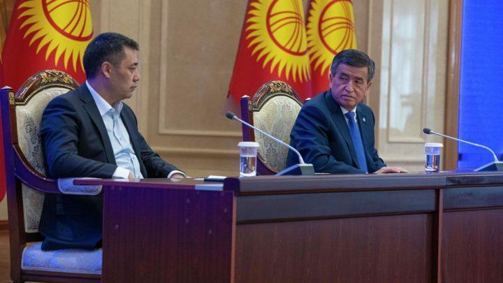 Садыр Жапаров: «Шайлоо мыйзамы өзгөртүлсө, президенттик шайлоого барам»
