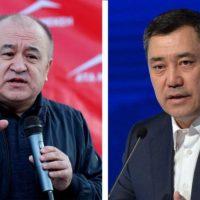 """Өмүрбек ТЕКЕБАЕВ: """"Жапаров деңгээлин көрсөтүп, Атамбаевден да өткөн басмачылык саясатты улантып жатат"""""""