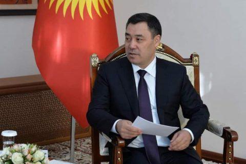 Садыр ЖАПАРОВ: «Кыргызстан Кытай мамлекетинин албан ийгиликтерге жетишкендигине абдан кубанычта»
