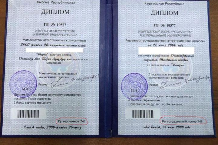УКМК жасалма диплом колдонгон депутатты аныктады. Ал ким?