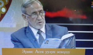 ВИДЕО — Карбалас БАКИРОВ: «Эрнистин «Каалгасында» жан дүйнөсүндө жүргөн бороон бар»