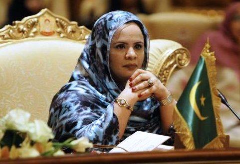 زوجة الرئيس السابق محمد ولد عبد العزيز تكيبر ماء العينين أحمد