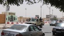 المدخل الرئيسي للإدارة العامة للأمن الوطني بنواكشوط حيث يبيت المشمولون في الملف ليلتهم الثانية (الأخبار)