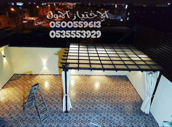 اسعار برجولات خشبية في الرياض خصم30 الاختيار الاول0500559613
