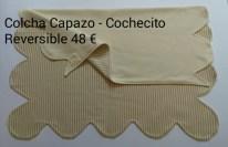 Cocha con ondas para cochecito-capazo. 48 euros