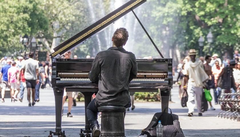 متتالية فيبوناتشي عندما تُعزف على البيانو