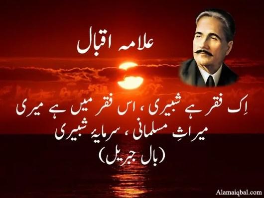 Muharram Poetry Allama Iqbal