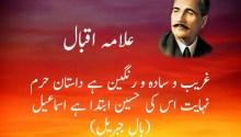 Muharram shayari Allama Iqbal
