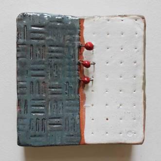 """Wall Box,"" pottery"