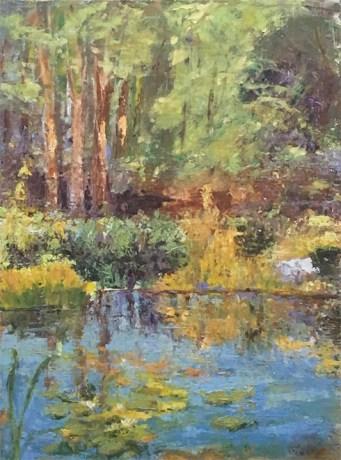 Summer Pond, 18X24