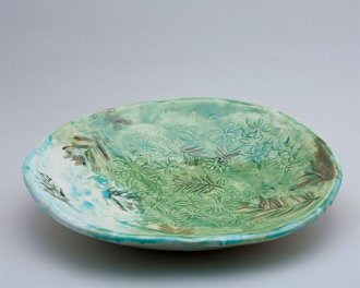Tropical Motif Bowl