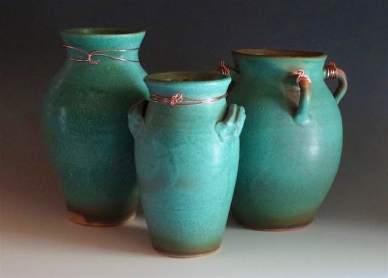 Three Vases-Ancient Reflection Series