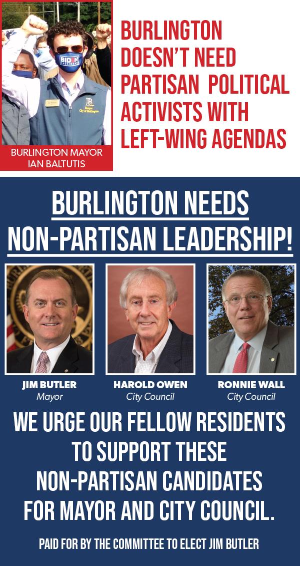 Vote Jim Butler, Harold Owen, Ronnie Wall
