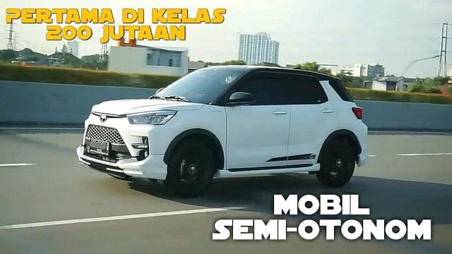 Review Toyota Raize TSS Test Drive Mobil Pintar