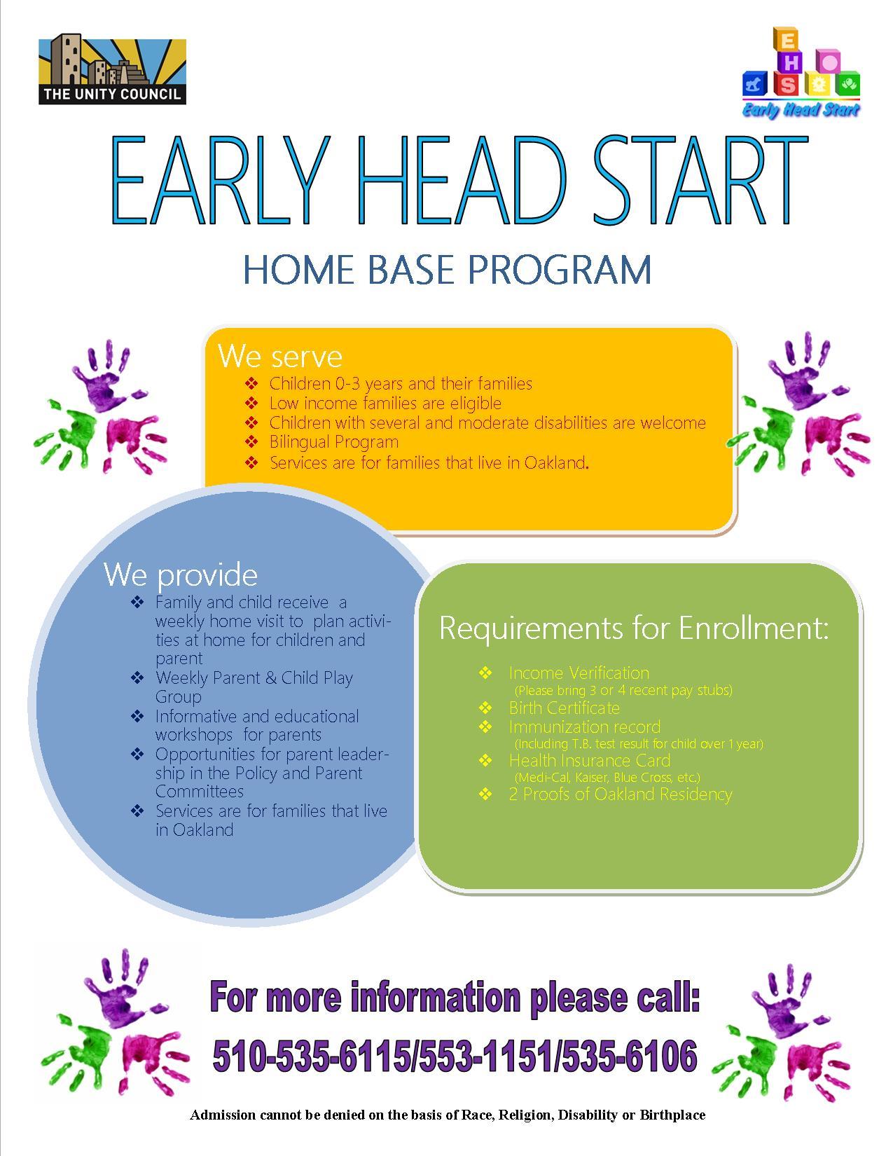 Early Head Start Home Base Program