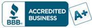 high ethical standards have earned us an A plus rating with the BBB - Better Business Bureau