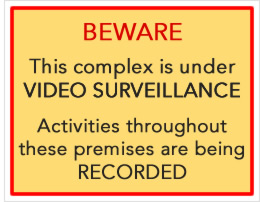 we employ active video surveillance to help secure our self-storage units