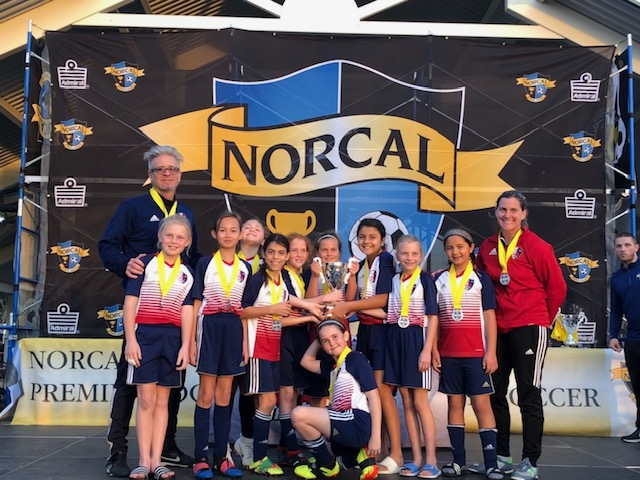 2009G Red win 2nd place in State Cup