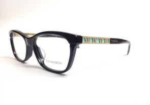 Black Tiffany Eyeglasses