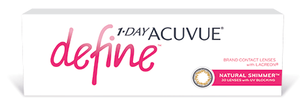 Acuvue Define 1 day disposable lenses