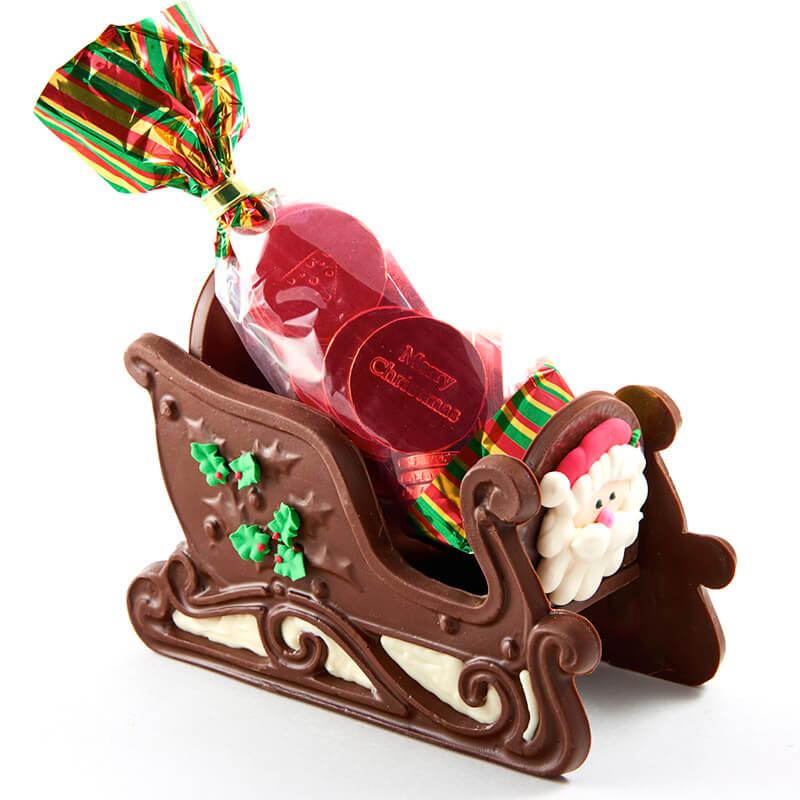 Chocolate Sleigh Alamo City Chocolate Factory