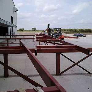 Custom Engineered Hangar Door