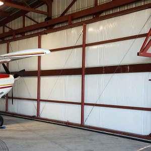 Tilt-Over Hangar Door