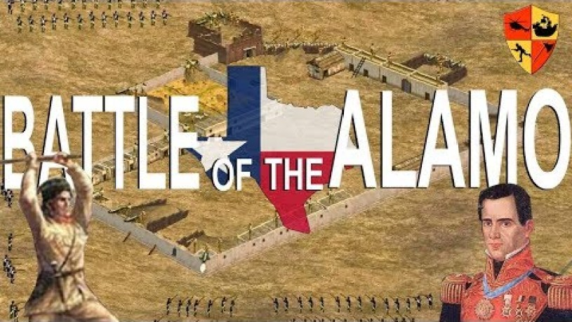 How Big Was The Alamo Fort