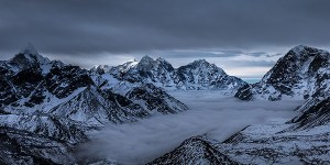 Kala Patthar, Everest Basecamp, Nepal - Panoamic Fine Art Print