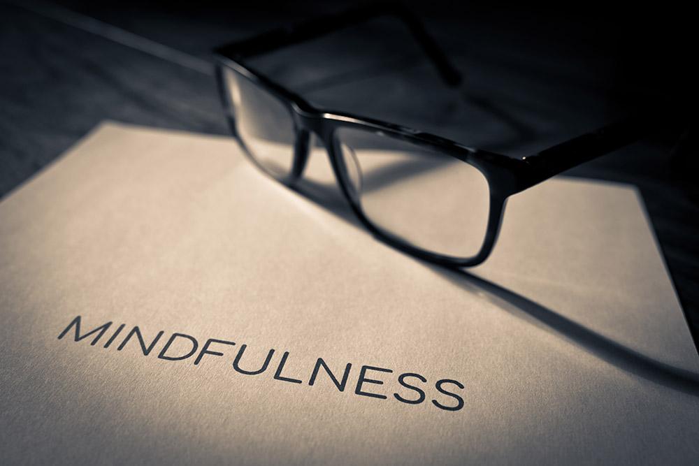 Mindfulness Title - Macro Photography