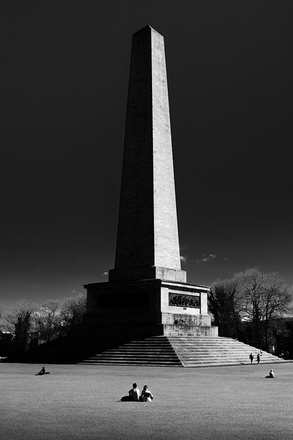 Wellington Monument - Phoenix Park, Dublin - Fine Art Print